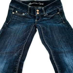 American Eagle Jeans Size 00 Short Stretch Bootcut